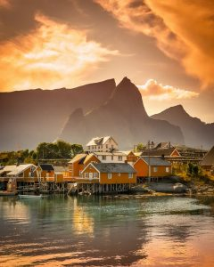 Norveç'te Yaşam Şatları